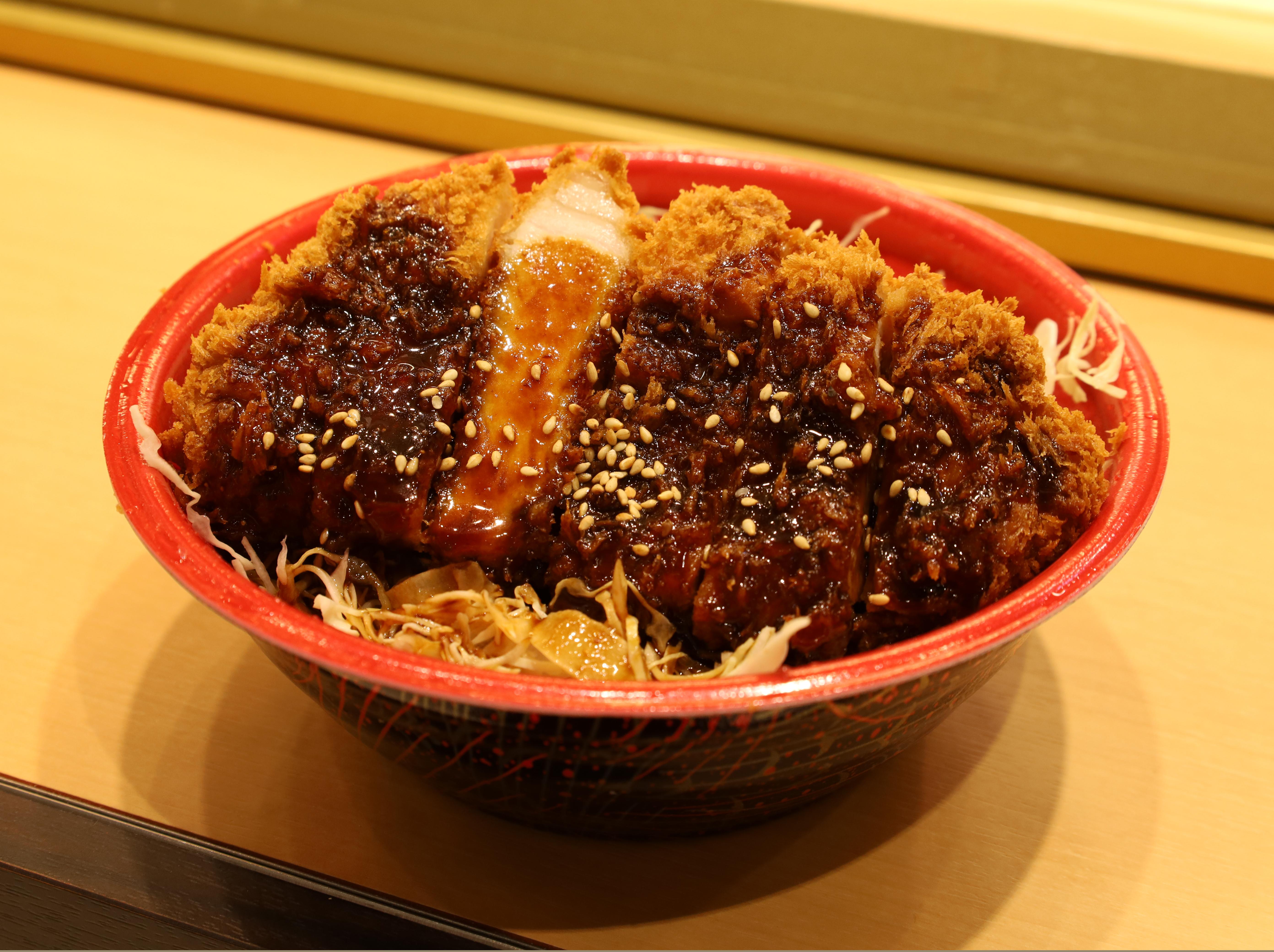 味噌ロースかつ丼の画像