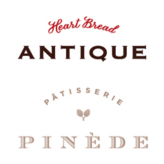 HEART BREAD ANTIQUE・PINEDEのロゴ画像